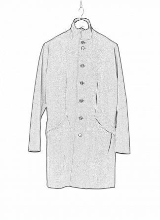 MA MAcross Maurizio Amadei Men Pinched Pocket Medium Fit Coat C255 CE6 Herren Mantel Jacket Jacke cotton elastan black hide m 1
