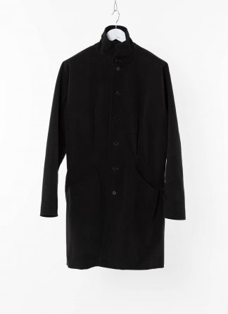 MA MAcross Maurizio Amadei Men Pinched Pocket Medium Fit Coat C255 CE6 Herren Mantel Jacket Jacke cotton elastan black hide m 2